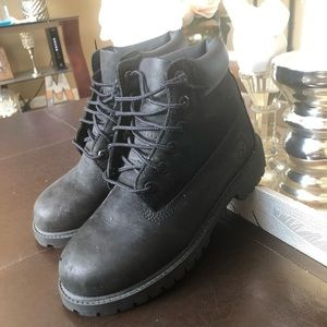 Timberland boys leather boots 🥾